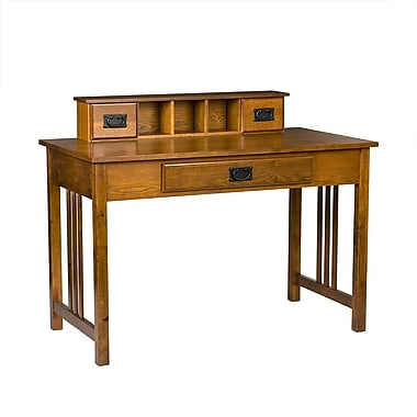 Sei Francisco Mission Computer Laptop Writing Desk Oak