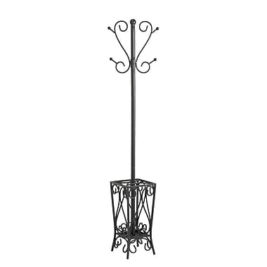 SEI Scrolled Coat Rack and Umbrella Stand