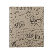 SEI Vintage Burlap Paris Postcard Message Board