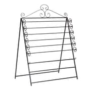 "SEI 46 1/4"" x 34 3/4"" x 27 1/2"" Easel/Wall Mount Craft Storage Rack, Black"