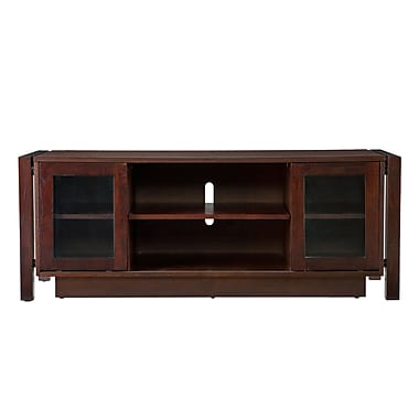SEI Wood TV Stand/ Media Console, Espresso