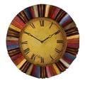 SEI WS1963 Multicolor Wall Clock