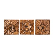 SEI Magnolia 3 Piece Wall Panel Set
