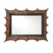 SEI 27 x 17 Norris Decorative Mirror, Bronze/Black
