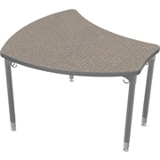 Balt Small Shapes 28.75'' Student Desk , Pewter Mesh (112362-4878)