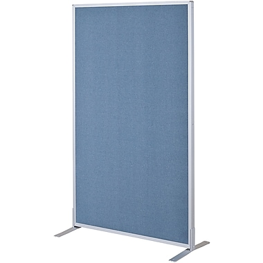 Best-Rite Fabric Standard Modular Panel, 5' x 3', Blue