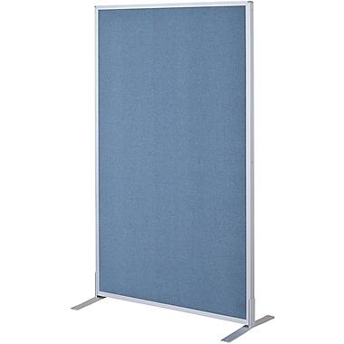 Best-Rite Fabric Standard Modular Panel, 5' x 3', Blue