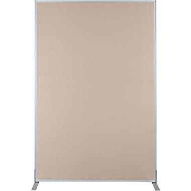 Best-Rite Fabric Standard Modular Panel, 6' x 4' Nutmeg