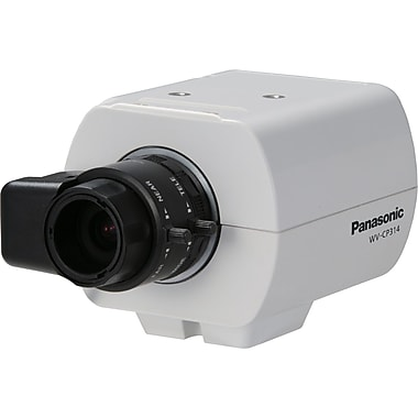 Panasonic® WV-CP314 Fixed Analog Camera With Day/Night, 1/3in. CCD