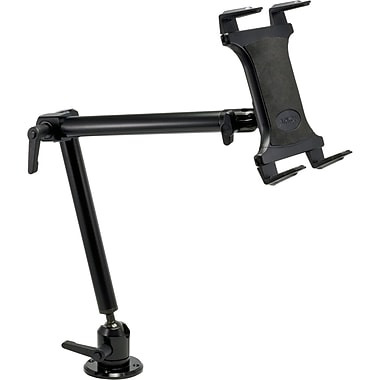 Arkon Heavy-Duty 22in. Universal Tablet Drill / Screw Base Mount for Flat Surfaces, Black
