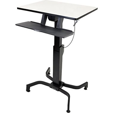 Ergotron® 24-280-928 WorkFit-PD Sit-Stand Desk