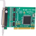 Intashield IS-400 4 Ports PCI RS232 Standard Serial Adapter Card