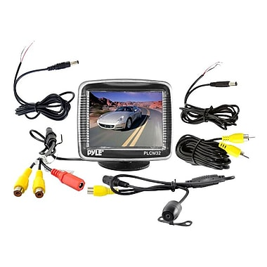 Pyle® PLCM32 3 1/2in. Active Matrix TFT LCD Car Display