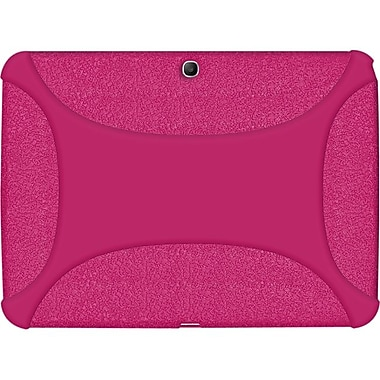 Amzer® Silicone Skin Jelly Case For 10.1in. Samsung Galaxy Tab 3, Hot Pink
