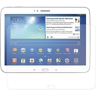 Amzer® Kristal™ Screen Protector For 10.1in. Samsung Galaxy Tab 3 P5210/P5220, Clear