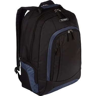 Targus® Urban II 16in. Laptop Backpack For Notebook, Black/Navy