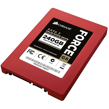 Corsair® Force Series 240GB 2 1/2in. SATA (6 Gb/s) Internal Solid State Drive