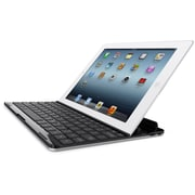 Belkin® FastFit Keyboard Cover For iPad, Silver/Black
