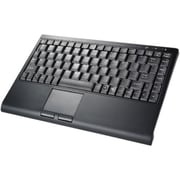 Solidtek® KB-3962B-BT 88 Keys Slim Mini Bluetooth Keyboard With Touchpad