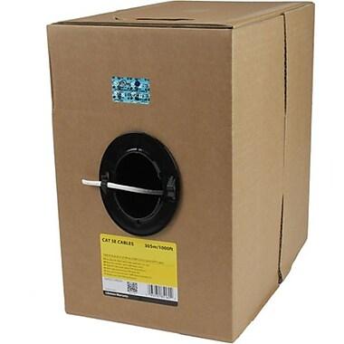 StarTech WIR5ECMRWH 1000' CAT-5e Riser Cable, Black