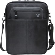 V7® Cityline CMX3-9N Messenger Bag For All iPads and 10.1 Tablet PC, Black