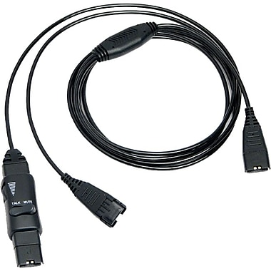 Vxi 202972 Splitter Audio Cable For VXI V-Series Headsets