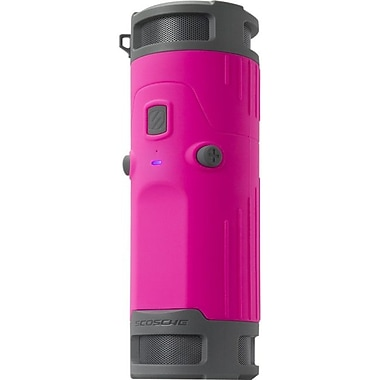 Scosche® boomBOTTLE Pink 2.0 Wireless Weather Proof 6W RMS Speaker