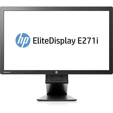 HP® Business E271i 27in. LED Back-lit LCD Monitor, Black