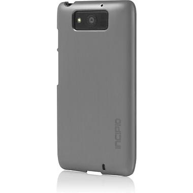 Incipio® feather® SHINE Ultra Thin Shell Case With Aluminum Finish For Moto X™, Silver