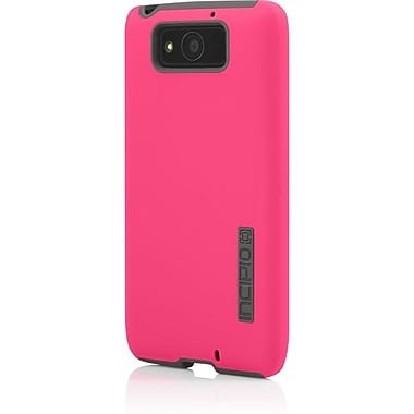 Incipio® DualPro™ Hard Shell Case With Silicone Core For Motorola Droid Ultra, Pink/Charcoal Gray
