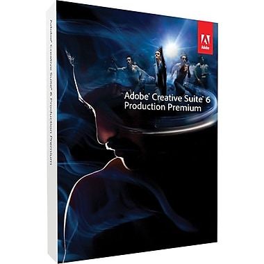 Adobe® Creative Suite® v.6.0 Production Premium Software For Mac [Student & Teacher Edition]