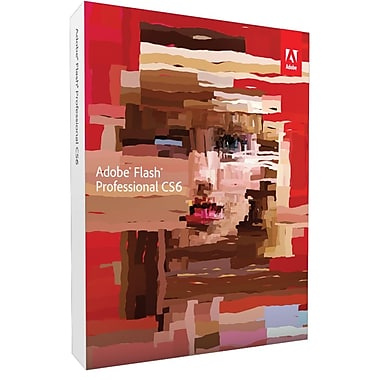 Adobe® Flash® CS6 v.12.0 Professional Software For Mac [Student & Teacher Edition]
