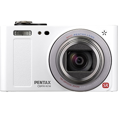 Pentax Optio 2.4in. H x 4.3in. W x 1.4in. Digital Camera, 16 Mega Pixels