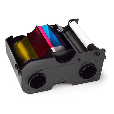 Fargo Dye Sublimation/Thermal Transfer Ribbon Cartridge For DTC 300 Printer, YMCKOK
