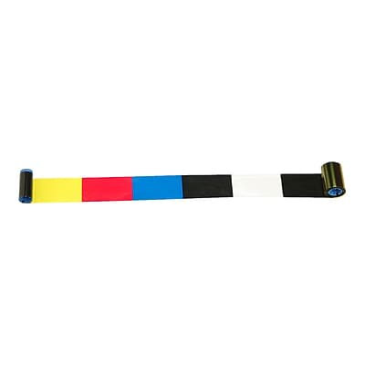 Zebra Technologies I Series Thermal Transfer Ribbon For Zebra P420i Printer, YMCKOK 292586