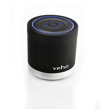Veho VSS009360BT 360 deg M4 Bluetooth Wireless Speaker, Black