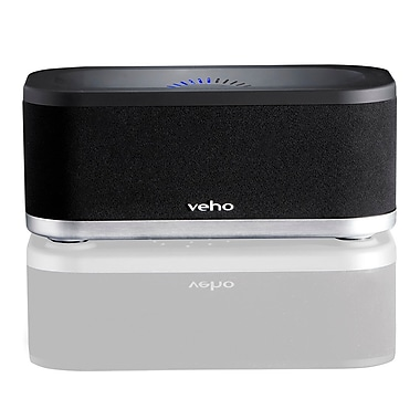 Veho VSS005WX3 MIMI 2.4 GHz Wireless WiFi Speaker System, Black