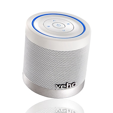 Veho VSS009360BT 360 deg M4 Bluetooth Wireless Speaker, Ice White