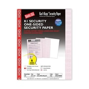 Blanks/USA® Kan't Kopy® 8 1/2 x 11 Security Papers, Void Red, 250 Sheets/Pack