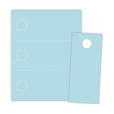Blanks/USA® 3.67in. x 8 1/2in. 1000/Pack 147 GSM Digital Cover Door Hangers
