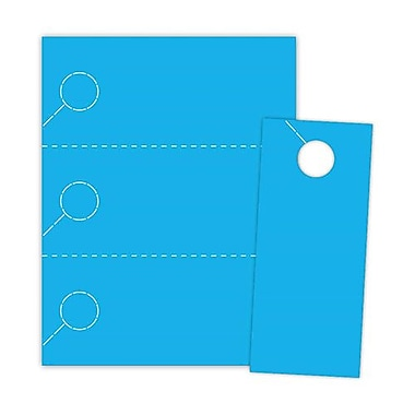Blanks/USA® 3.67in. x 8 1/2in. 1000/Pack 174 GSM Digital Cover Door Hangers