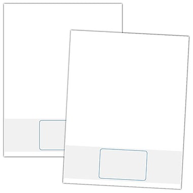 Blanks/USA® 3 3/8in. x 2 1/8in. 7 Pt. 1 Reply ID Card, White, 250/Pack