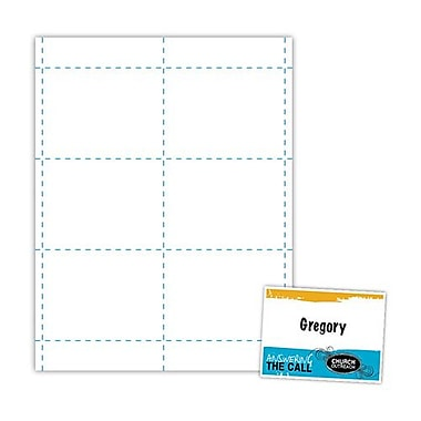 Blanks/USA® 100/Pack 4in. x 3in. Digital Name Badges