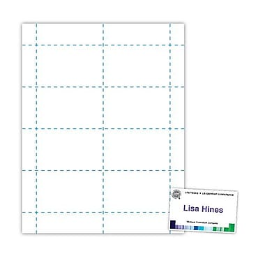 Blanks/USA® 100/Pack 3 1/2in. x 2 3/16in. Digital Name Badges