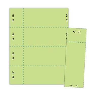 Blanks/USA® 125/Pack 2 3/4in. x 8 1/2in. Digital Raffle Tickets