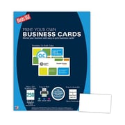 "Blanks/USA® 3 1/2"" x 2"", 80 lbs. Smooth Cover Business Card, White, 250/Pack"