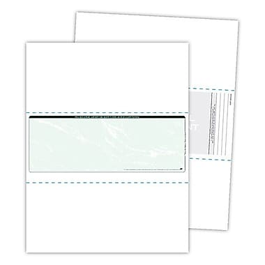 Blanks/USA® Kan't Kopy® 8 1/2in. x 11in. Security Check in the Middle Papers, Void Green, 500/Pack