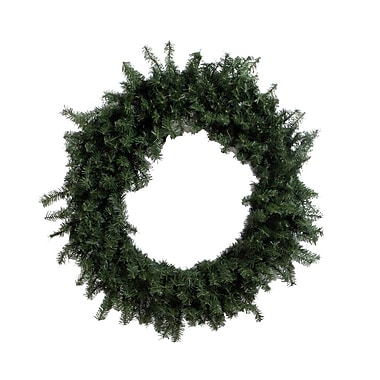 Vickerman 60in. Canadian Pine Wreath With 1200 Tips, Green