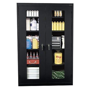 Sandusky® See Thru 36in. x 24in. x 78in. Clearview Storage Cabinets