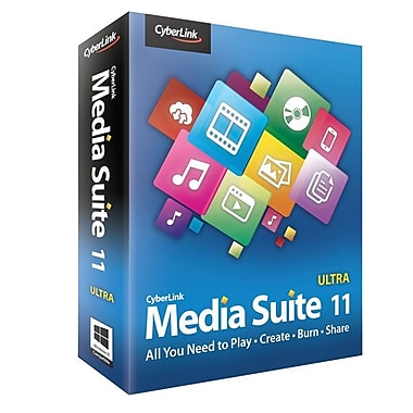 Cyberlink Corp MES-EB00-RPU0-00 Media Suite 11 Ultra Software For Windows 7/xP/VISTA